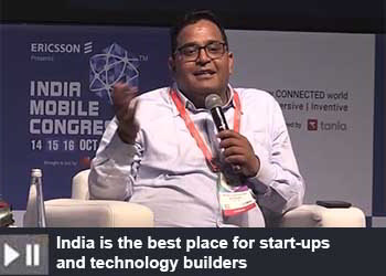 Vijay Shekhar Sharma - Founder - One97 & Paytm at India Mobile Congress 2019