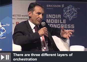 Alvise Carlton - Head of Digital Services Market Area South East Asia Oceania and India Ericsson at India Mobile Congress 2019