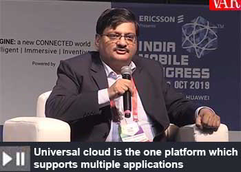 Mudit Agarwal - EVP Technology Strategy & Planning, VodafoneIdea Ltd. at India Mobile Congress 2019