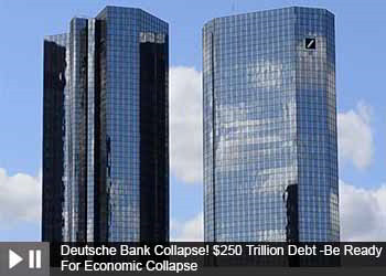 Deutsche Bank Collapse! $250 Trillion Debt -Be Ready For Economic Collapse & Stock Market Crash 2019