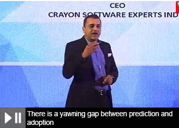 Vikas Bhonsle, CEO - Crayon Software Experts India at 18th Star Nite Awards 2019, at Part - 3