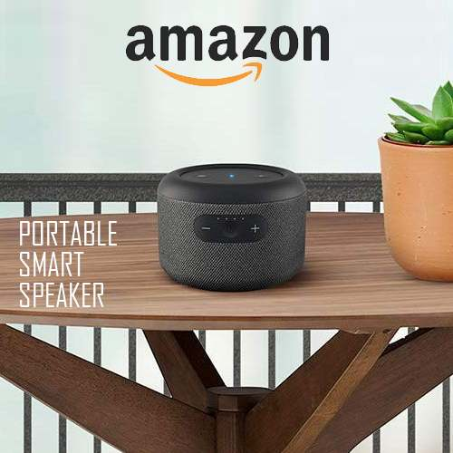 Amazon unveils Echo Input Portable smart speaker