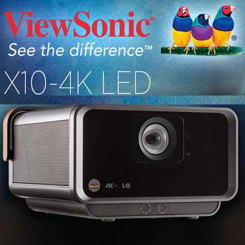 ViewSonic launches its X10 and M1+ portable projectors
