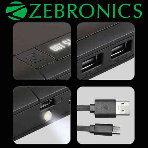 Zebronics brings ZEB MC 10000C power bank
