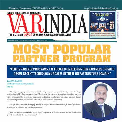 """Vertiv partner programs are focused on keeping our partners updated about recent technology updates in the IT infrastructure domain"""