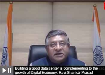 Building a good data center is complementing to the growth of Digital Economy: Ravi Shankar Prasad