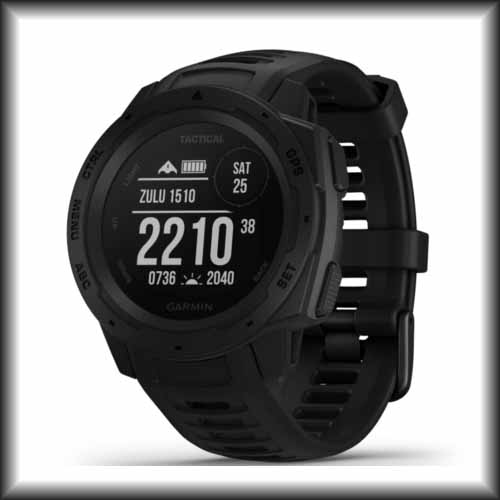 Garmin unveils the Tactical edition of the rugged, reliable outdoor GPS smartwatch Instinct series