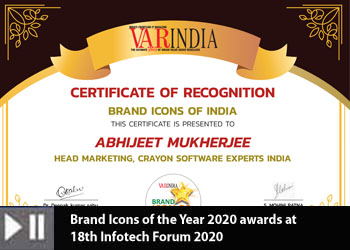 Brand Icons of the Year 2020 awards at 18th Infotech Forum 2020