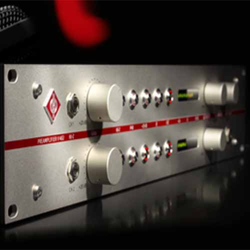Neumann brings the V 402 Preamplifier