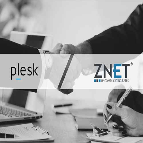 Plesk selects ZNet Technologies as its global distributor