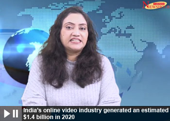 India's online video industry generated an estimated $1.4 billion in 2020