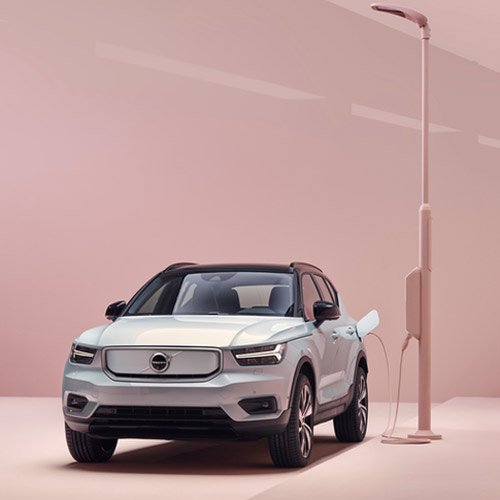 Analog Devices' and Volvo Cars unveiled first pure electric SUV-the Volvo XC40 Recharge