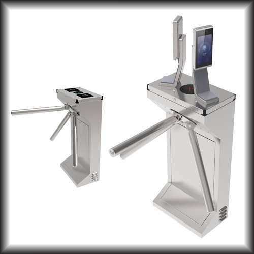 Prama Hikvision Introduces Tripod Turnstile in the High Speed Entrance Solution