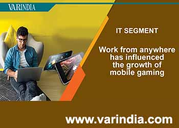 Work from anywhere has influenced the growth of mobile gaming