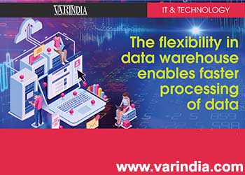The flexibility in data warehouse enables faster processing of data